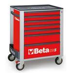 _Servante Mobile d'Atelier à Sept Tiroirs Beta Tools   C24S-7-R-P   Greenland MX_