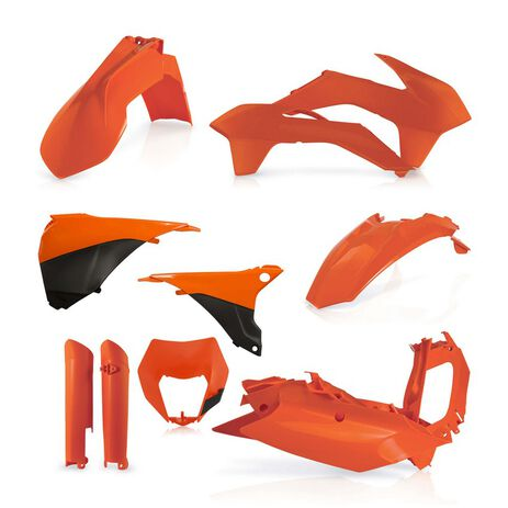 _Full Kit Plastiques Acerbis KTM EXC/EXC-F 14-15 Orange | 0017204.010-P | Greenland MX_