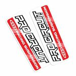 _Autocollants Fourche Pro Circuit Standard | DCFD-RED | Greenland MX_