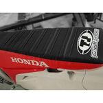_Housse de selle avec bordures Honda CRF 250 10-13 CRF 450 R 09-12 USA Rouge-Noir | ST0911CRFBTSR | Greenland MX_