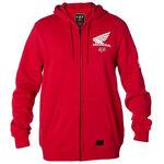 _Veste Fox Honda Zip Fleece Rouge   21145-208-P   Greenland MX_