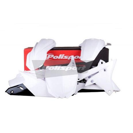 _Kit Plastiques Polisport Yamaha YZ 250/450 F 14-16 Blanc | 90582 | Greenland MX_