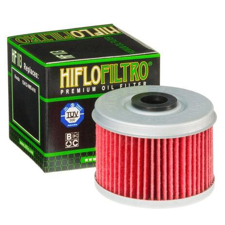 _Filtre a huile hiflofiltro Honda TRX 250 85-87 | HF113 | Greenland MX_