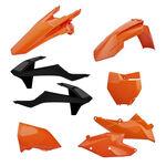 _Kit Plastiques Polisport KTM EXC/EXC-F 17-18 Orange | 90707 | Greenland MX_