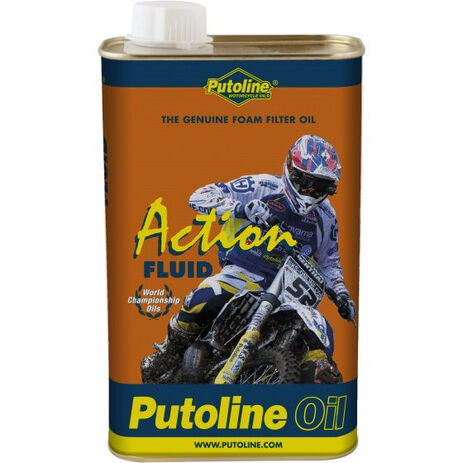 _Huile Putoline Filtres à Air Action Fluid 1 Lt | PT70005 | Greenland MX_
