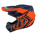 _Casque Troy Lee Designs GP Overload Blue Marin/Orange | 103252011-P | Greenland MX_