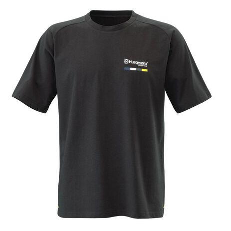 _T-Shirt Husqvarna Striped | UHS210052800 | Greenland MX_