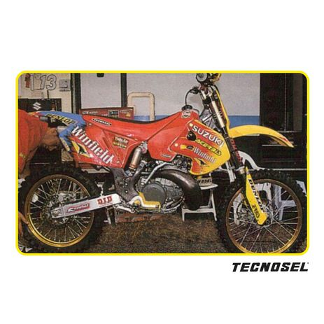 _Kit Autocollants Tecnosel Replica Team Suzuki 1999 RM 125/250 99-00   23V03   Greenland MX_