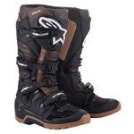 _Bottes Alpinestars Tech 7 Enduro Noir/Marron   2012114-1089   Greenland MX_