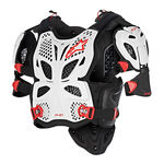 _Gilet de Protection Alpinestars A-10 Full Blanc/Noir/Rouge | 6700517-213-P | Greenland MX_
