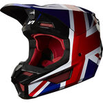 _Casque Fox V1 Regl SE Rouge/Noir | 24276-055 | Greenland MX_