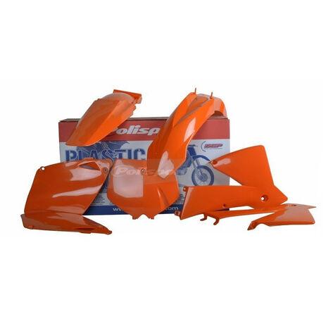 _Kit Plastiques Polisport KTM EXC/EXC-F 01-02 Orange | 90652 | Greenland MX_