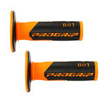 _Poignees Pro Grip 801 Dual Orange/Noir | PGP-801BKOR | Greenland MX_