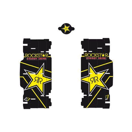 _Autocollants Pour Radiateur Blackbird Replica Rockstar Energy KTM SX/SXF 08-15 /EXC 08-16 | A501L | Greenland MX_