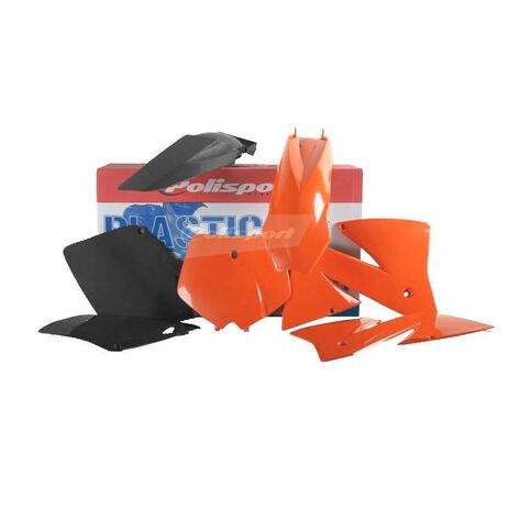 _Kit Plastiques Polisport KTM EXC 01-02 EXCF 01-02 | 90101 | Greenland MX_