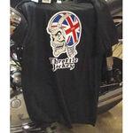 _T-shirt TJ Skull UK Noir | CABSKULLUK | Greenland MX_