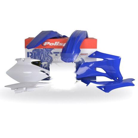 _Kit Plastiques Polisport Yamaha WR 250 F 07-14 WR 450 F 07-11 Bleu | 90136 | Greenland MX_