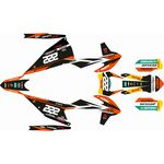 _Kit Autocollant Complète KTM EXC/EXC-F 20 Replica Cairoli | SK-KTEXC20RCA-P | Greenland MX_