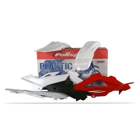 _Kit plastiques polisport HUSQVARNA TC/TE 250/ 310/ 450/ 510 2008 blanc | 90503 | Greenland MX_