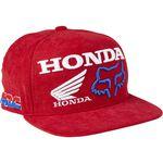 _Casquette Enfant Fox Honda HRC Rouge   28683-122-OS-P   Greenland MX_