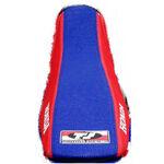 _Housse de selle gripper TJ Honda CRF 250 R 04-09 USA Rouge Bleu | ST0409250BLTS | Greenland MX_