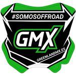 _Autocollant Mini-Plaque GMX 5,5 x 5,5 cm   PU-MBFPES-P   Greenland MX_
