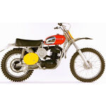 _Moto Miniature Husqvarna Cross 400 1970 Replica Bengt Aberg | 3HS1771000 | Greenland MX_