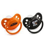 _Paire De Tetines D´Origine KTM Orange Et Noir | 3PW1770700 | Greenland MX_