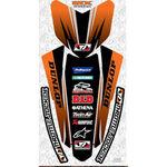 _Kit deco garde boues TJ KTM EXC 12-13 SX 11-12 | FKKTM11SSXF | Greenland MX_