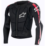 _Gilet de Protection Alpinestars Bionic Plus Noir/Rouge | 6506716-132 | Greenland MX_