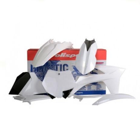 _Kit Plastiques Polisport KTM EXC/EXC-F 12-13 Blanco   90508-P   Greenland MX_