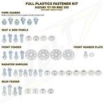 _Kit Vis plastiques Suzuki RMZ 250 07-09 | BO-SUZ-071002 | Greenland MX_