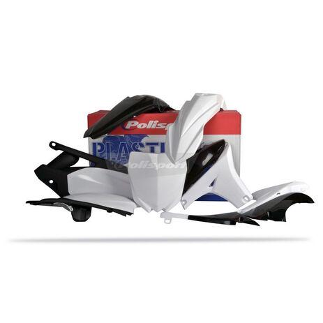 _Kit plastiques polisport  Yamaha YZ 450 F 10-13 Blanc | 90262 | Greenland MX_
