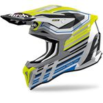 _Casque Airoh Strycker Shaded Gloss | STKSH31-P | Greenland MX_