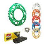 _Kit Chaîne KTM EXC/SX 83-.. Husq FC/FE 14-.. RK-Gnerik Alum-Gnerik | KT-C117 | Greenland MX_