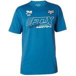 _T-shirt Fox Flection Tech Bleu | 21536-522-P | Greenland MX_