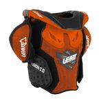 _Tour de Cou Enfant Leatt Fusion 2.0 Orange/Noir | LB101401000P | Greenland MX_