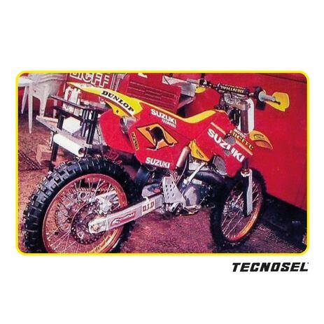 _ Housse de Selle Tecnosel Replica Team Suzuki 1998 RM 125/250 96-98 | 13V02 | Greenland MX_