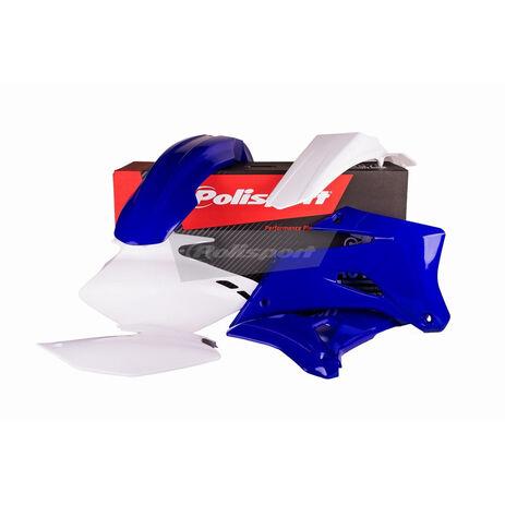 _Kit plastiques polisport Yamaha WR 250 F 07-14 Bleu/Blanc | 90531 | Greenland MX_