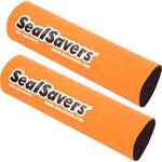 _Jeu de 2 soufflets de fourche en neoprene long orange | SS-004L | Greenland MX_