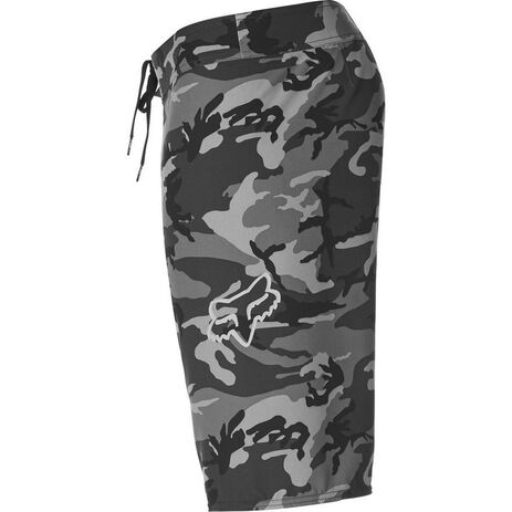 _Short de Bain Fox Camo Stretch Noir | 23312-247 | Greenland MX_