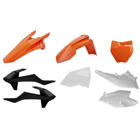 _Kit Plastiques Polisport KTM EXC/EXC-F 17-18 OEM | 90751 | Greenland MX_