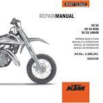_DVD Manuel de Réparation KTM DVD 50 SX Mini 09-19 | 3206341 | Greenland MX_