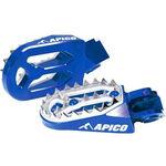 _Reposes-pieds Enduro Apico Pro-bite Husqvarna FC 16-.. KTM SX-F 16-.. | AP-FPROKTM16BL-P | Greenland MX_