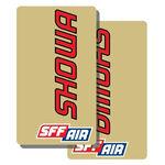 _Deco de fourche tj vinyle Showa SFF Air transparent | TJFSSHSFF | Greenland MX_