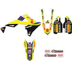 _Kit Déco Blackbird Replica Team Suzuki World MXGP RMZ 450 18-.. | 2320R6 | Greenland MX_