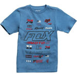 _T-shirt Enfant Fox Edify Bleu | 21002-157-YP | Greenland MX_