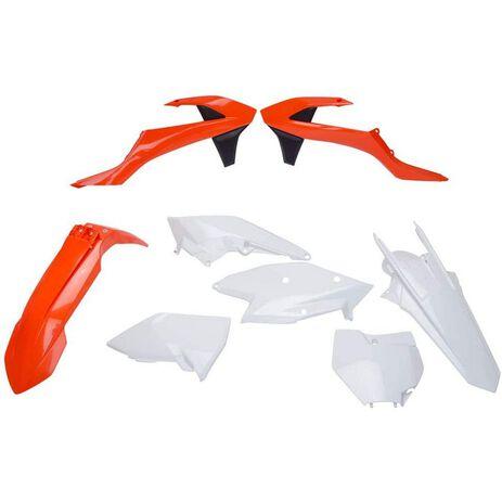 _Kit Plastiques Polisport KTM SX 125/144/250 SX-F 16-18 SX 250 17-19 OEM | 90679-P | Greenland MX_