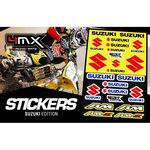 _Stickers Varies 4MX Suzuki | 01KITA606S | Greenland MX_