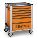 _Servante Mobile d'Atelier à Sept Tiroirs Beta Tools | C24S-7-O-P | Greenland MX_